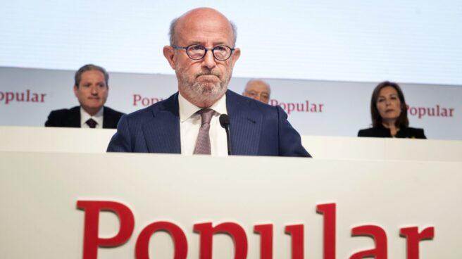 Emilio Saracho, presidente de Popular.