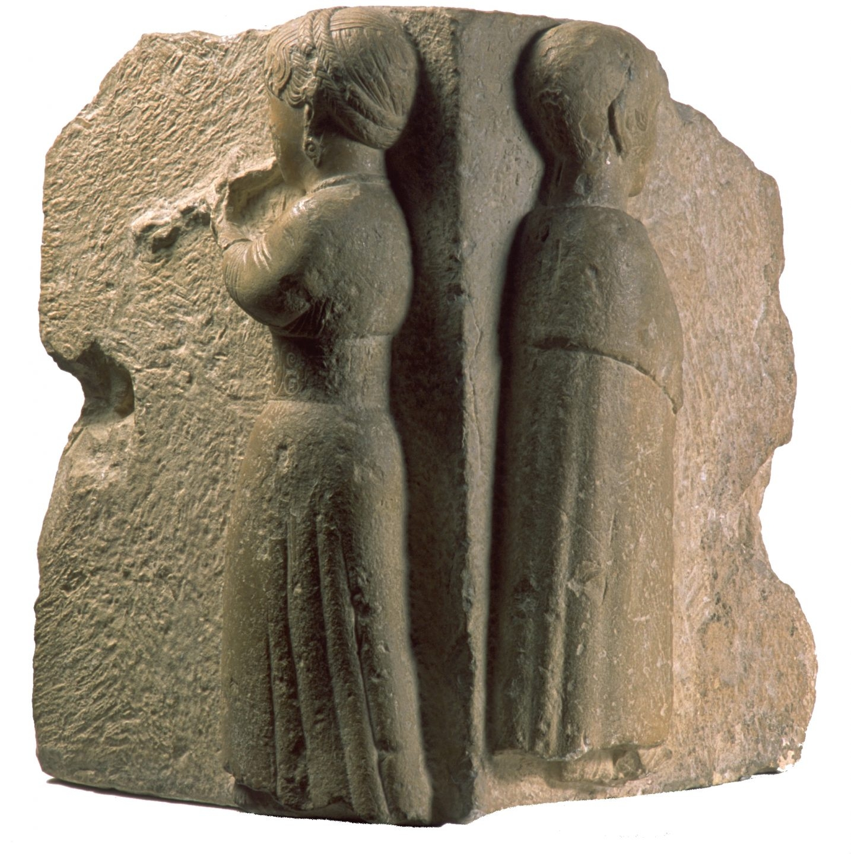 Figura perteneciente al monumento funerario de Osuna (Sevilla), de época ibérica, datado en los siglos III_II a.C.