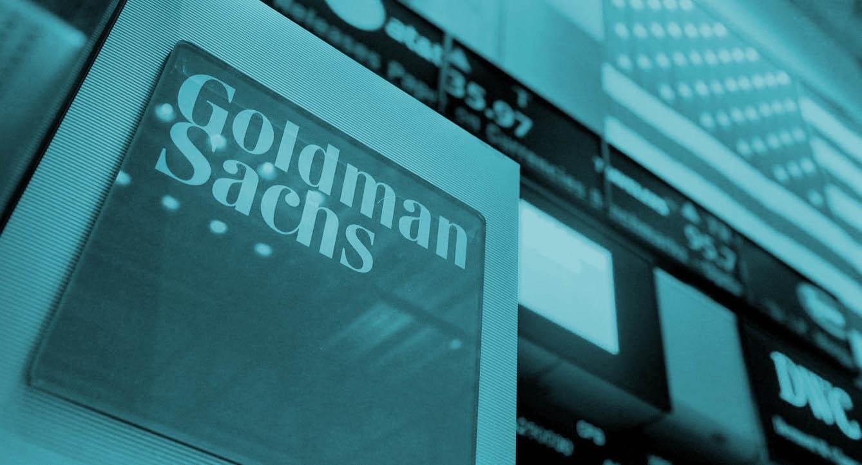 Logo del banco Goldman Sachs.