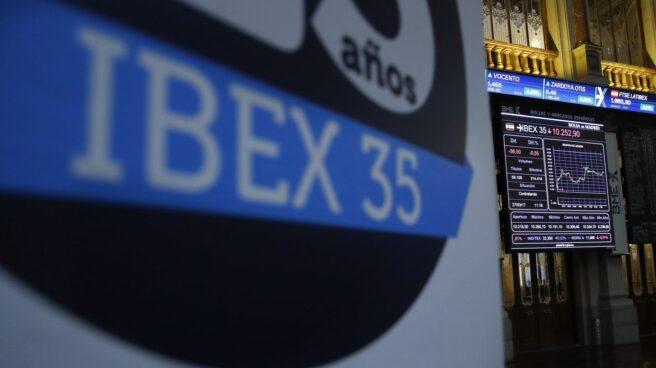 Indice del IBEX en la Bolsa.