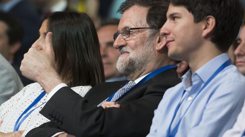 Mariano Rajoy, en el Congreso de Nuevas Generaciones.