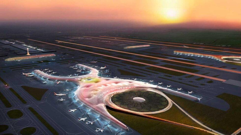 El futuro nuevo aeropuerto de Ciudad de México.