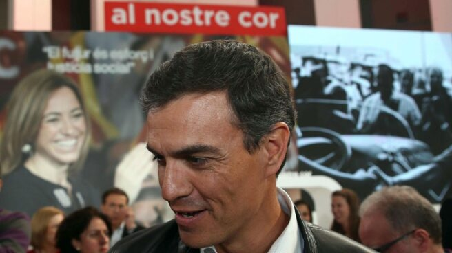Pedro Sánchez, en el homenaje a Carme Chacón.