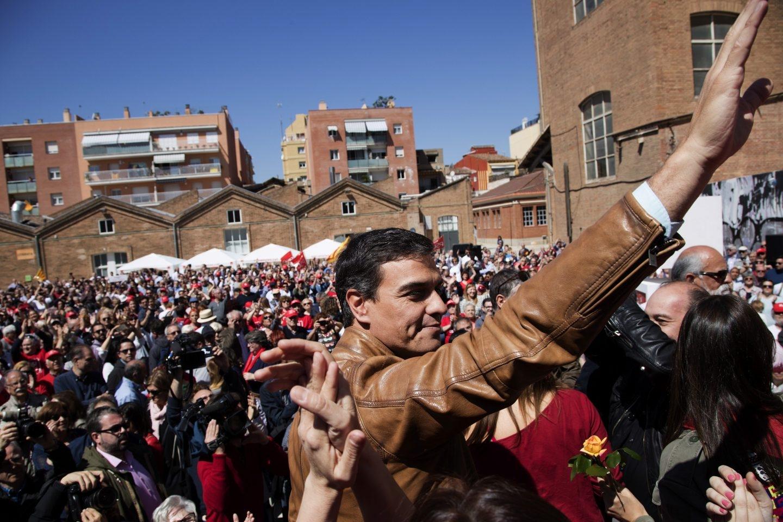 Pedro Sánchez, en Barcelona.