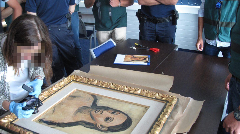 'Cabeza de mujer joven', el cuadro de Picasso que Jaime Botín sacó de España.