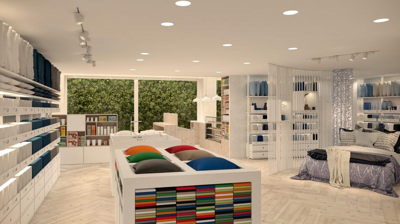 Centrada en los dormitorios, Ikea temporary busca conectar con el cliente