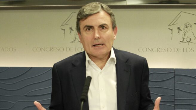 El portavoz económico del PSOE, Pedro Saura.