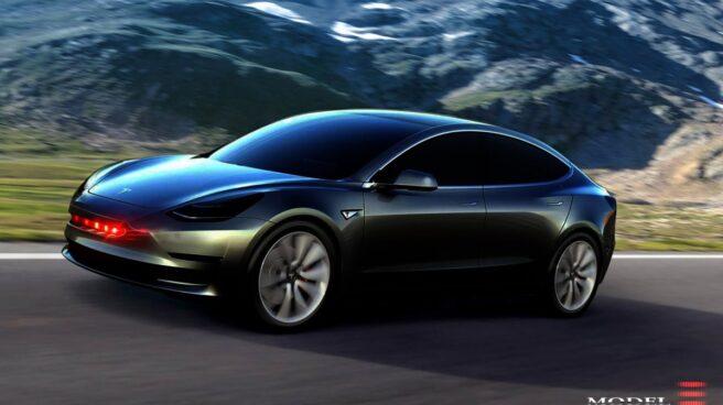 Así será el Model 3 de Tesla.