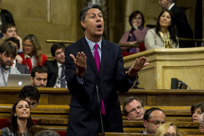 Xavier Garcia Albiol, en el Parlament.