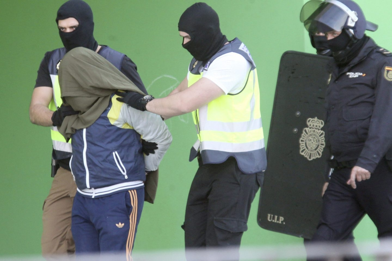 Yihadista detenido en Ceuta.