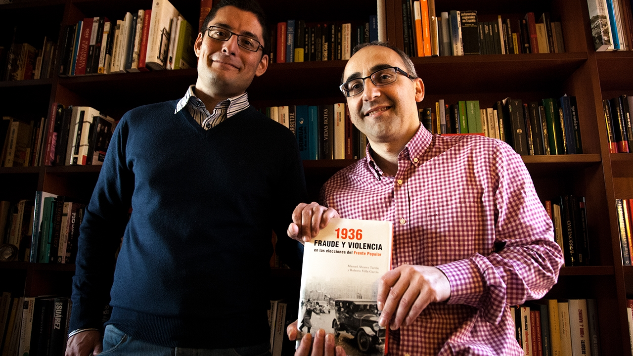 Manuel Álvarez Tardío y Roberto Villa García.