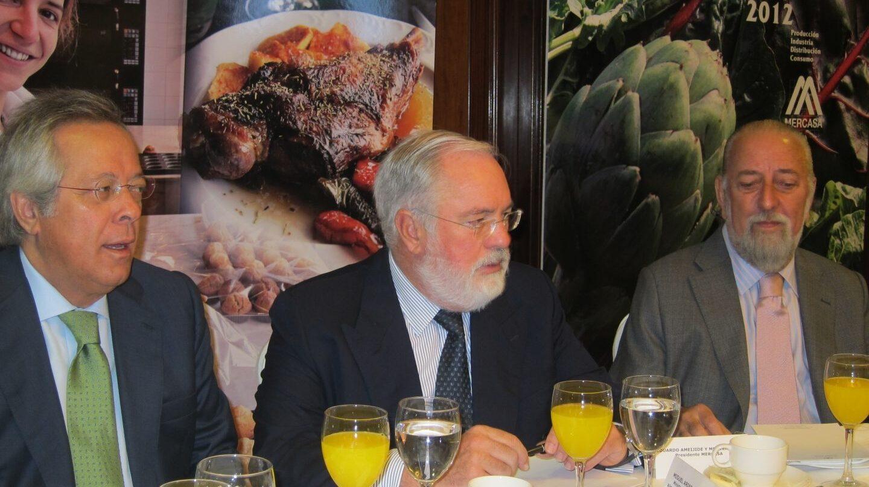 Ameijide, presidente de Mercasa (derecha)