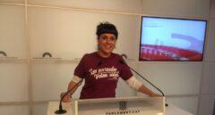 La diputada de la CUP Anna Gabriel.