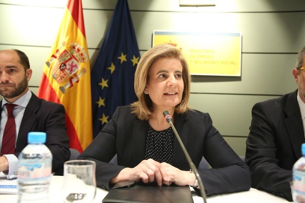 Báñez preside la LXIV Conferencia Sectorial de Empleo y Asuntos Laborales, el pasado 11 de abril.
