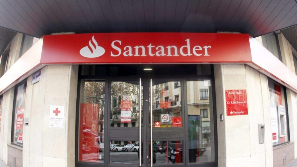 Sucursal de Banco Santander.