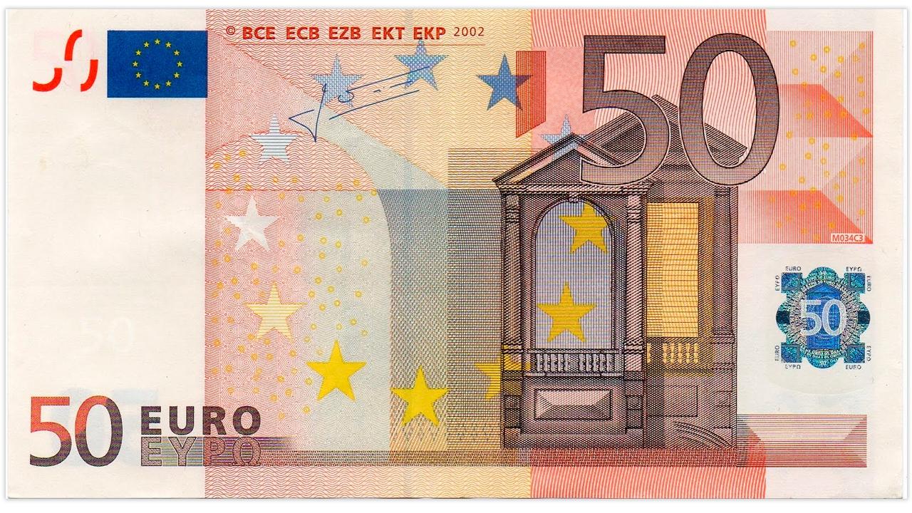 toque mire gire gu a para que no te la cuelen con el nuevo billete de 50 euros el. Black Bedroom Furniture Sets. Home Design Ideas