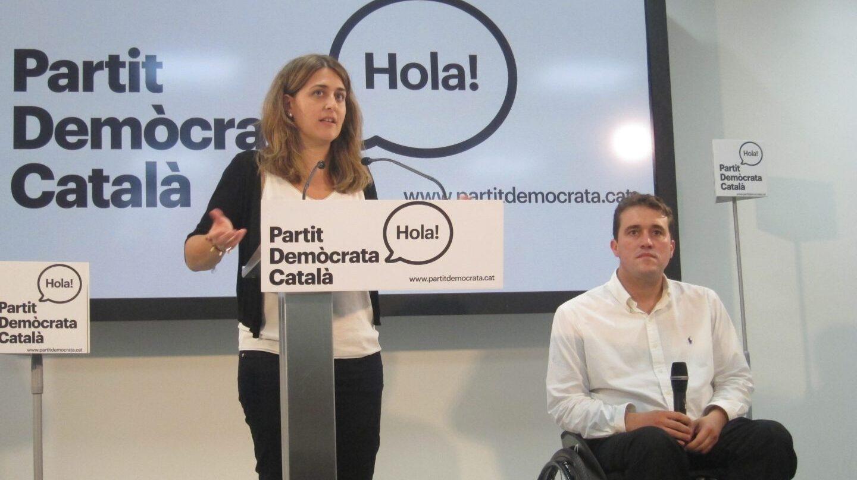 Marta Pascal y David Bonvehí.