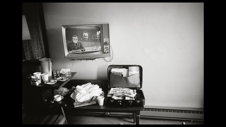 La habitación donde se encontraba en francotirador que mató a Luther King. Steve Schapiro.