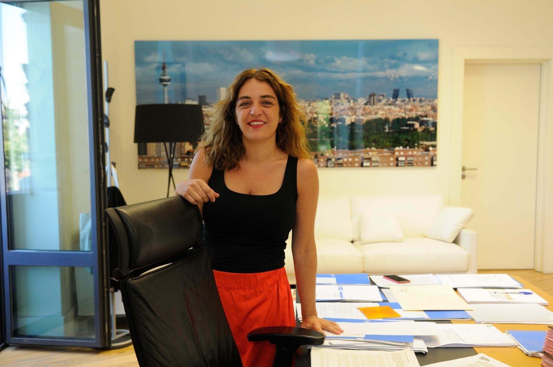 Celia Mayer, responsable de Igualdad del Ayuntamiento de Madrid.