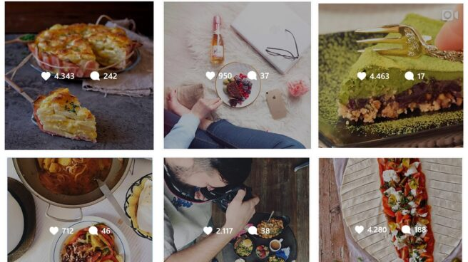 Instagram es la red social por excelencia para los 'foodies'