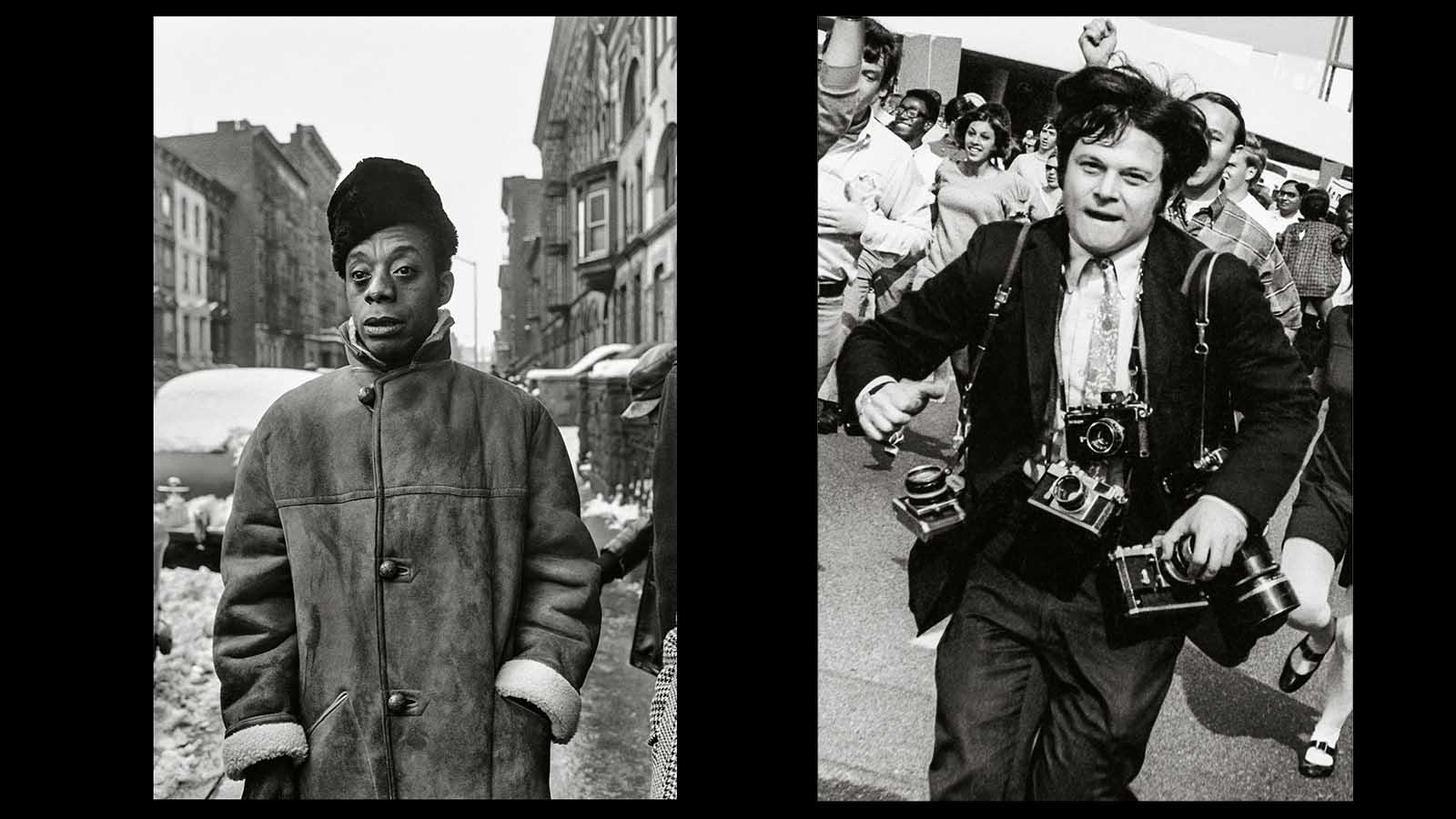 James Baldwin y Steve Schapiro.