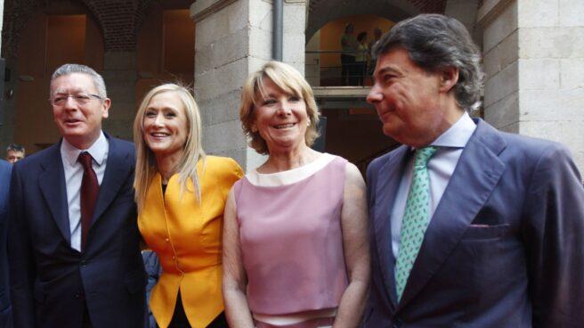 Gallardón, Cifuentes, Aguirre y González.