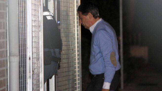 Ignacio González el día de su detención por supuestas irregularidades en el Canal de Isabel II
