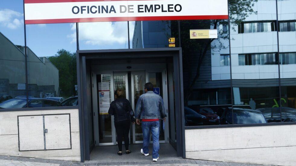 Una oficina de empleo en Madrid. Archivo.