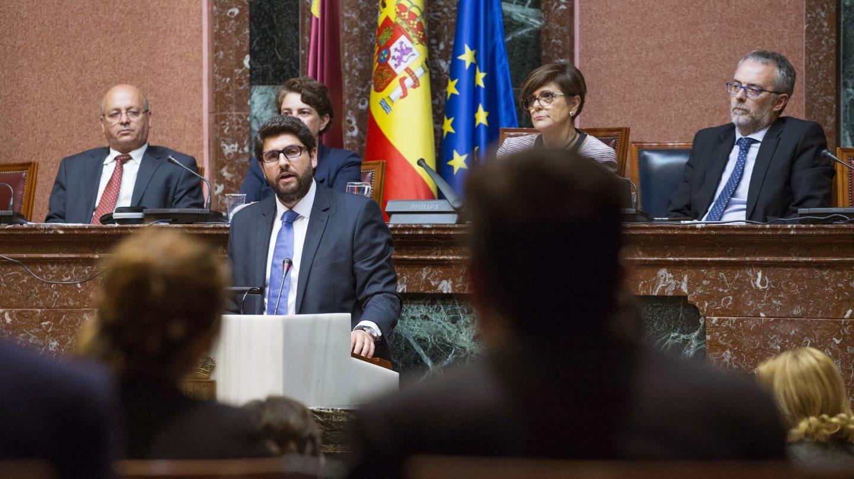 Fernando López Miras, presidente de Murcia.