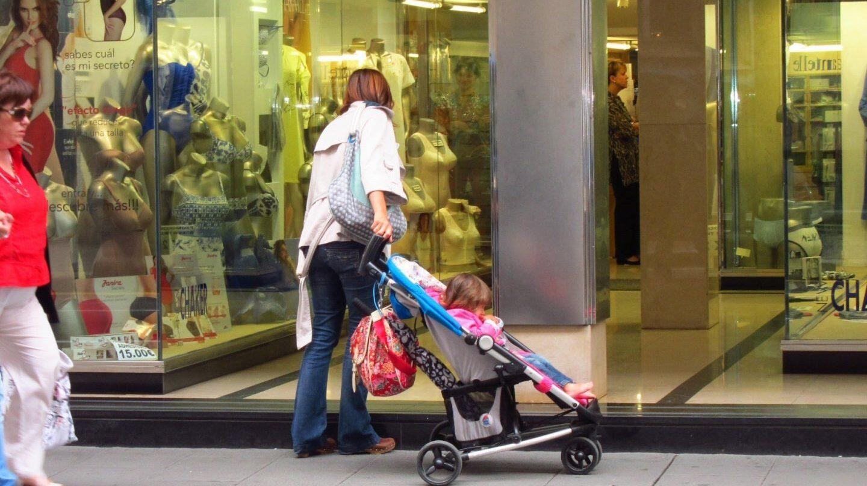 Las madres pueden acceder desde 2016 a un complemento por maternidad para completar su pensión.