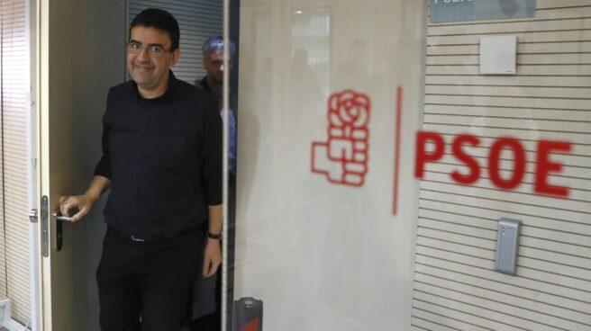 El portavoz y responsable de Comunicación y Organización de la Comisión Gestora, Mario Jiméne