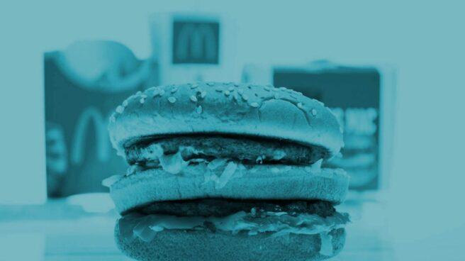 Hamburguesa Big Mac de McDonald's.