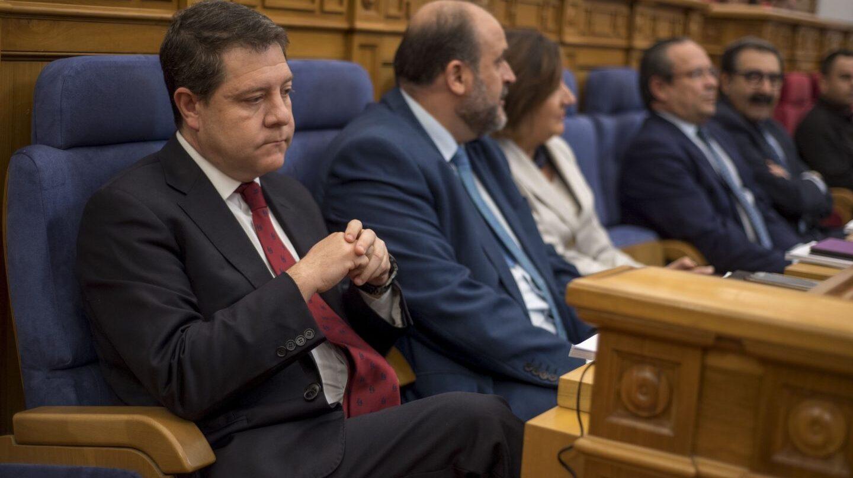 Emiliano García Page, en un momento del pleno.