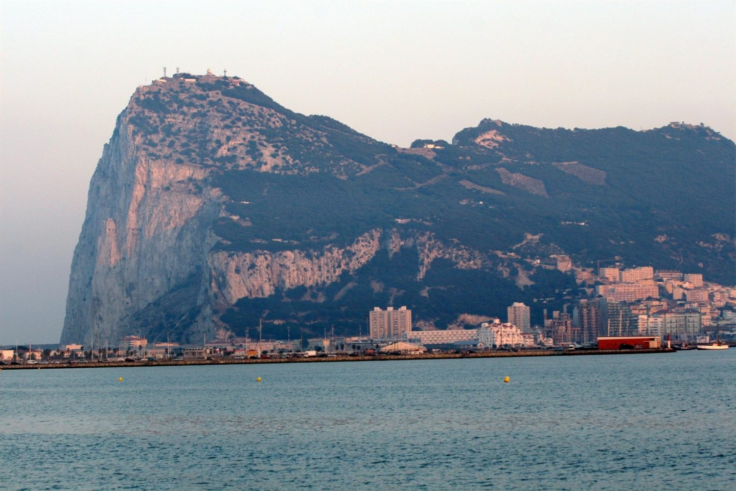 Peñón de Gibraltar.