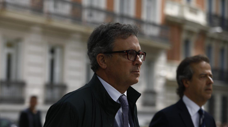 Jordi Pujol Ferrusola, 'Pujol jr', a su llegada a la Audiencia Nacional.