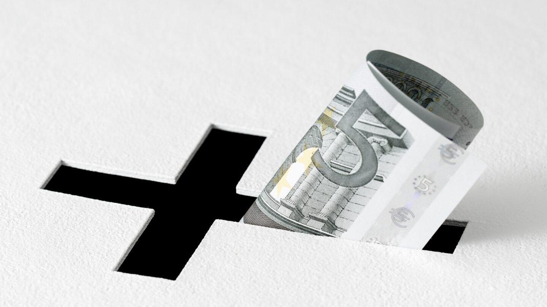 La recaudación de la iglesia se estanca.