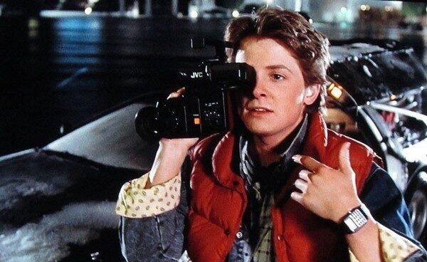 """Michael J. Fox en el papel de Marty McFly, en """"Regreso al futuro""""."""