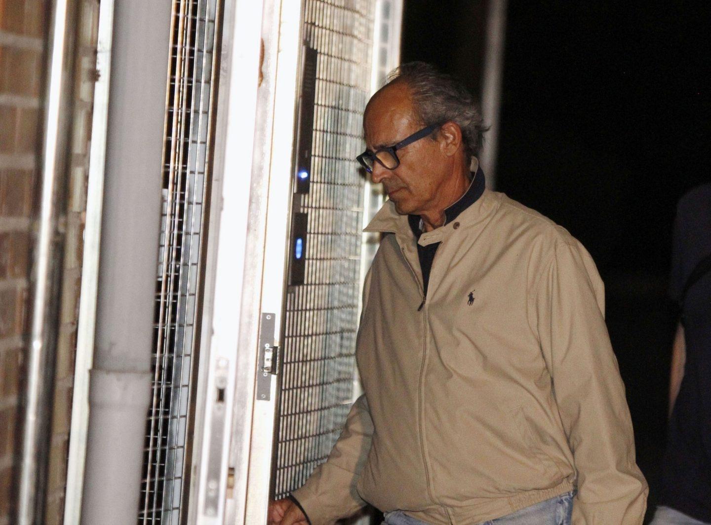 Edmundo Rodríguez Sobrino, tras su detención en el marco de la 'operación Lezo'.