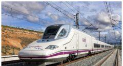 Un tren AVE , denominado popularmente 'pato'.