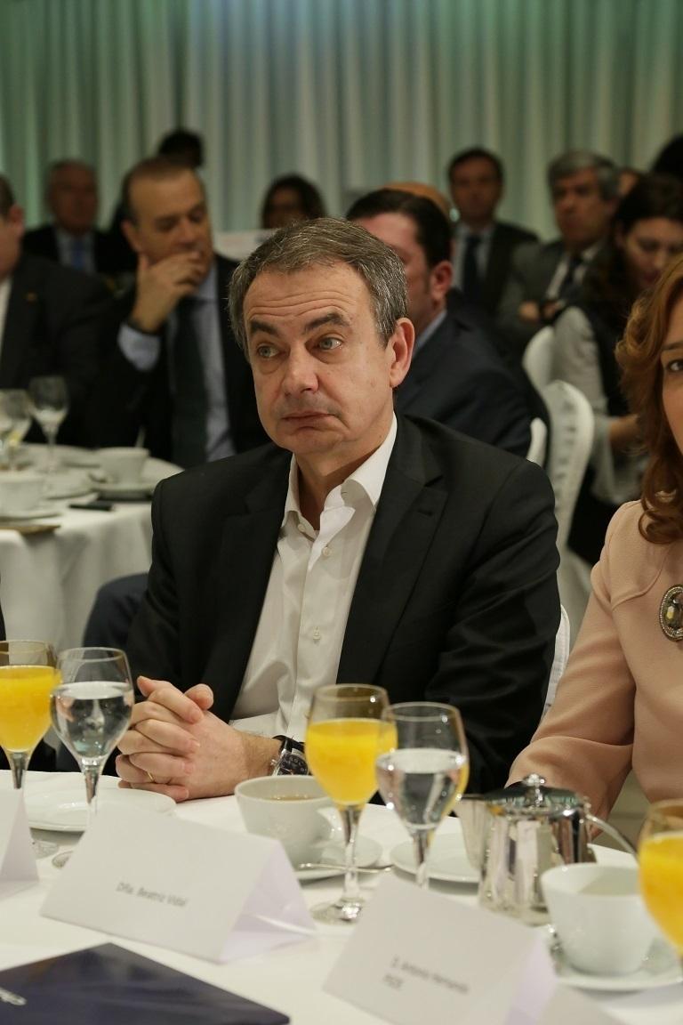 El expresidente del Gobierno, José Luis Rodríguez Zapatero.