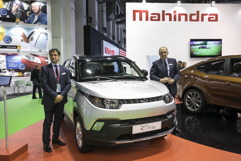 De la mano de la marca india Mahindra llega una auténtica novedad a nivel europeo, el Mahindra KUV 100, un pequeño todoterreno de 3,67 m de longitud. Incorpora motores diésel y gasolina de 82 CV y 77 CV, respectivamente.