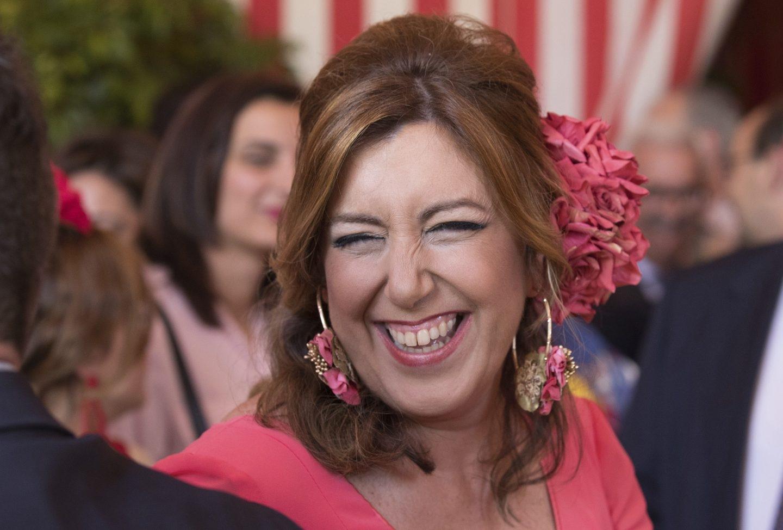 Susana Díaz, en la Feria de Sevilla.