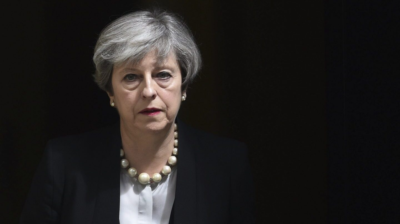 La premier británica, Theresa May.