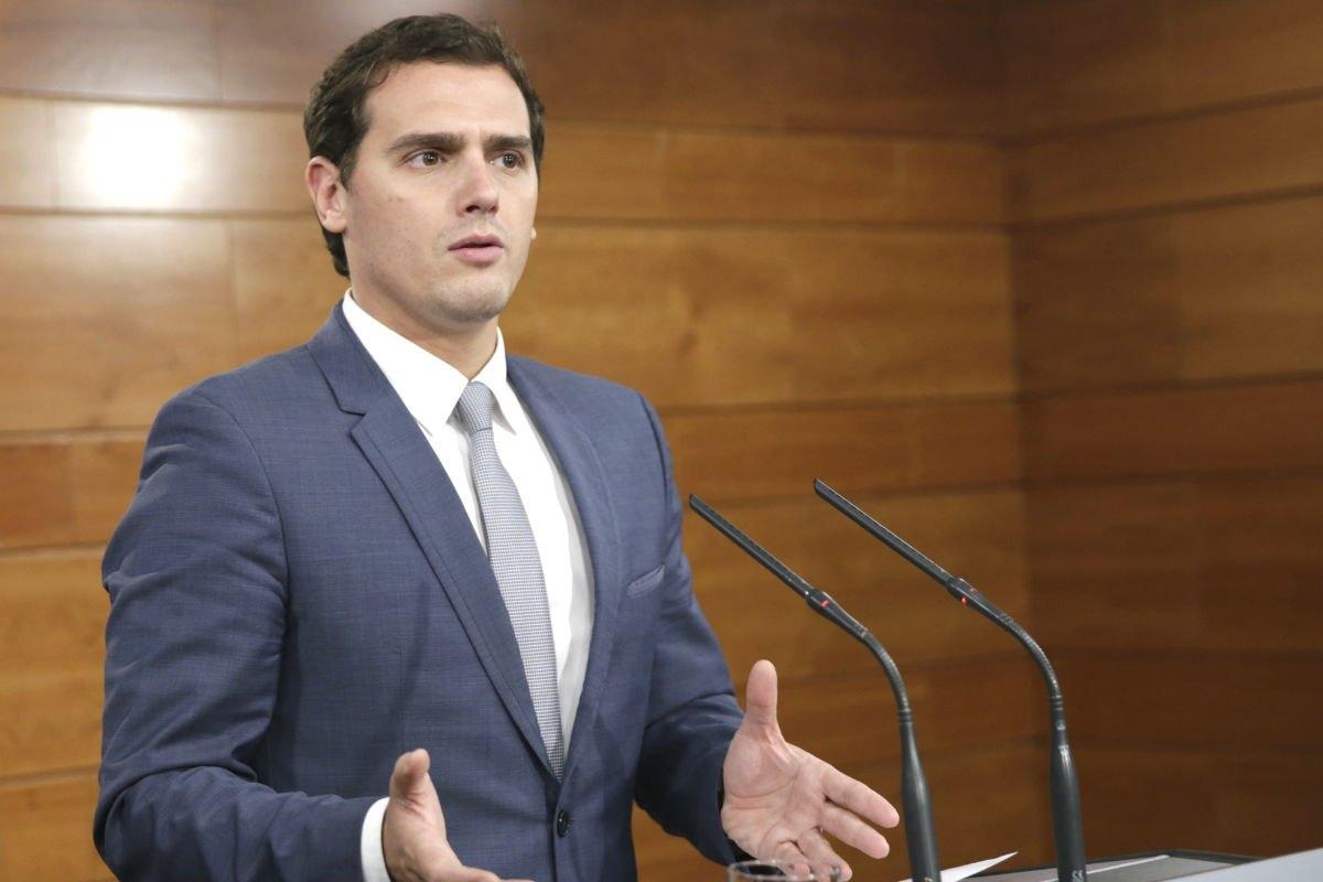 Rivera quiere que Ciudadanos presida la comisión de las Cajas