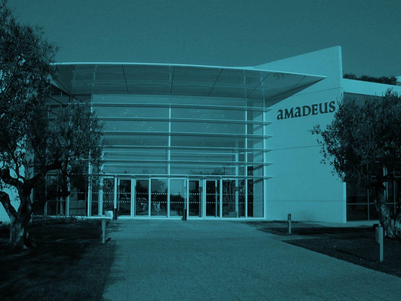 Sede de Amadeus en Niza (Francia).
