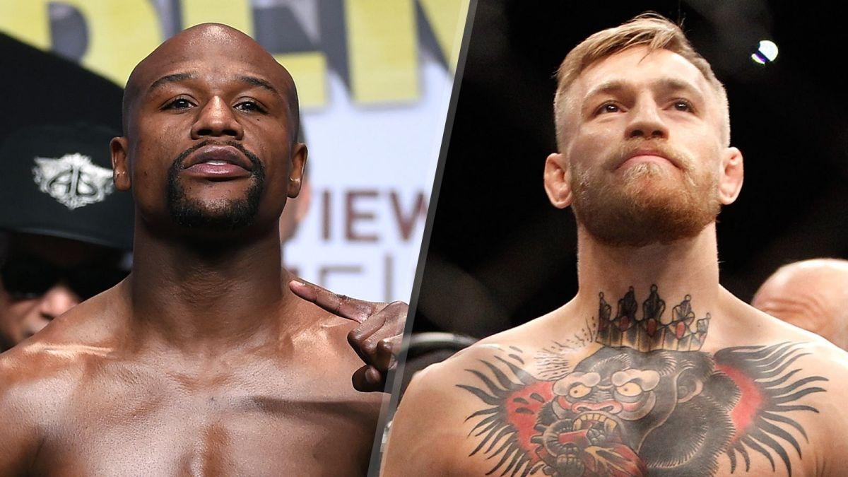 Los dos rivales, Floyd Mayweather y Conor McGregor.