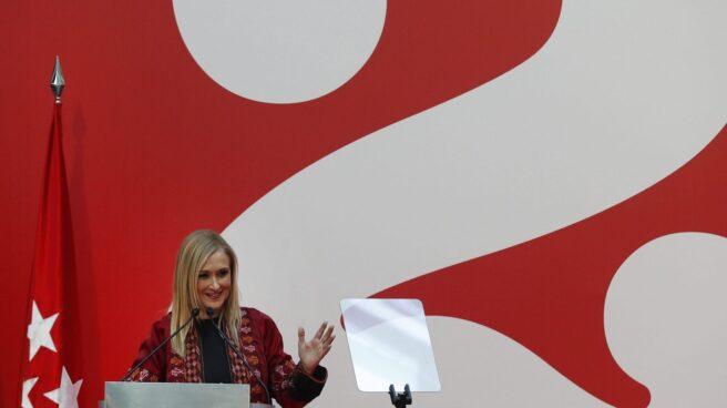 Cristina Cifuentes, presidenta de la Comunidad, en un acto oficial.
