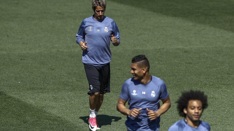 El jugador del Real Madrid, Fabio Coentrao.