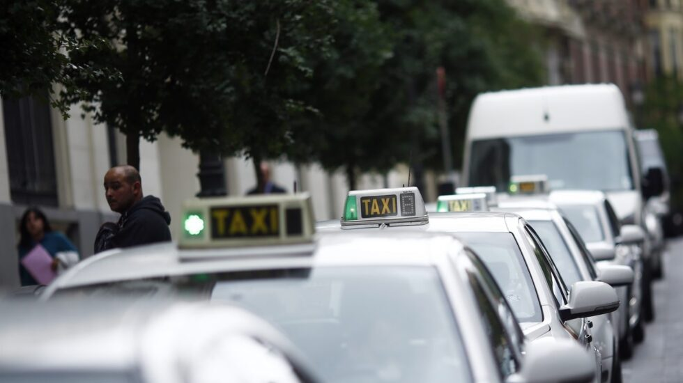 Taxis en Madrid.