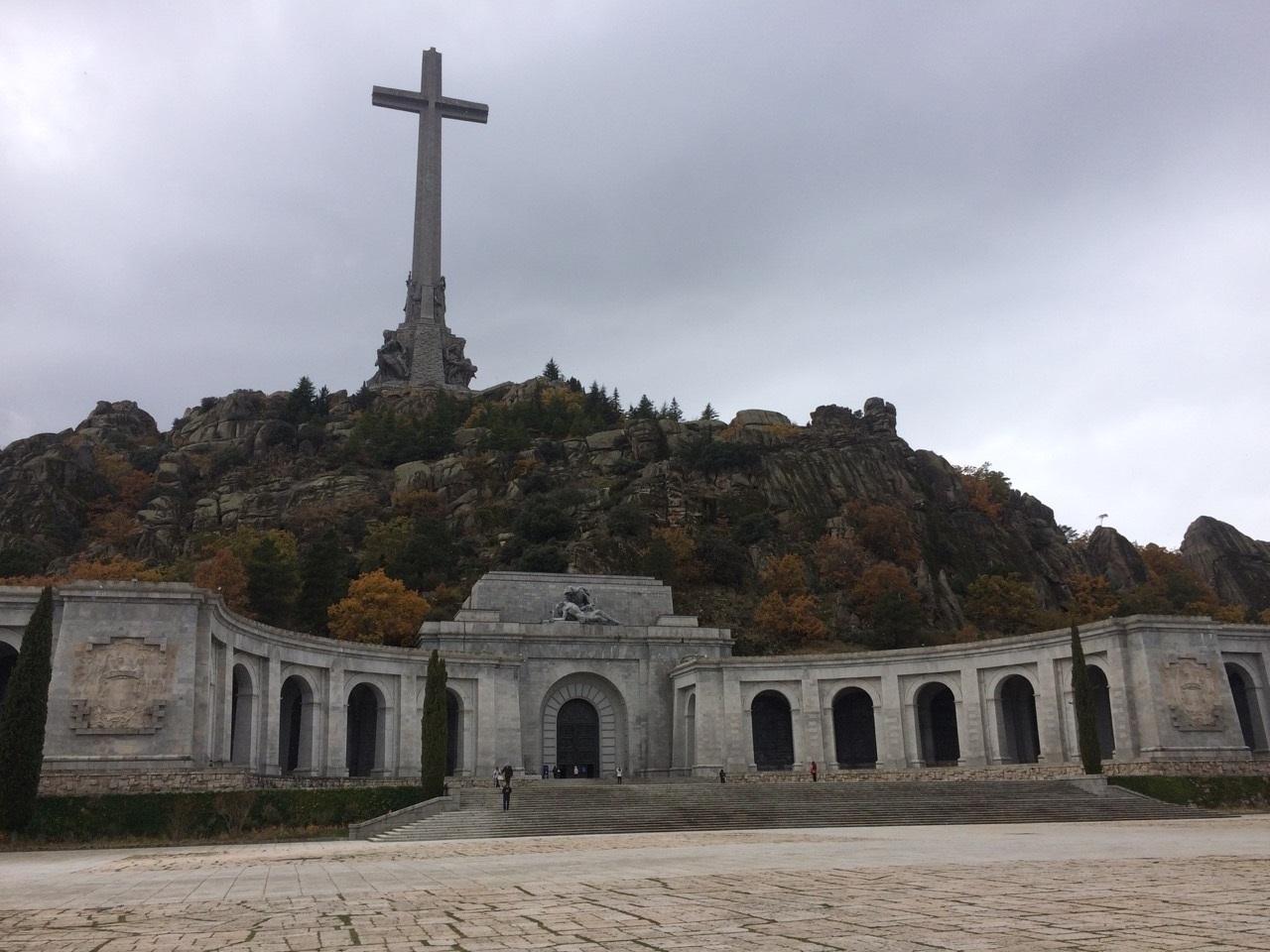 Imagen del Valle de los Caídos, actual mausoleo de Francisco Franco.